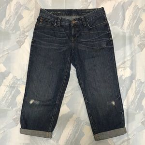 Eddie Bauer Boyfriend Relaxed NWOT Capris Jeans